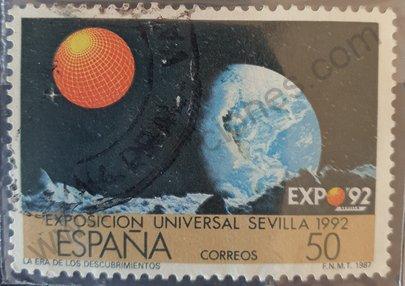 Sello España 1987 La era de los descubrimientos