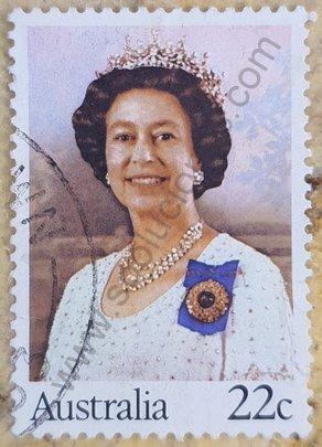 Sello Australia 1980 Elizabeth II - 54 cumpleaños