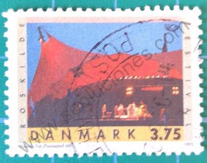 Sello festival de Rosklide - Dinamarca 1995