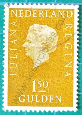 Sello 1981 Reina Juliana - Países Bajos 1.50 ƒ