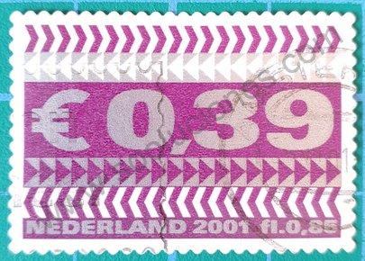 Sello Flechas de Países Bajos año 2001