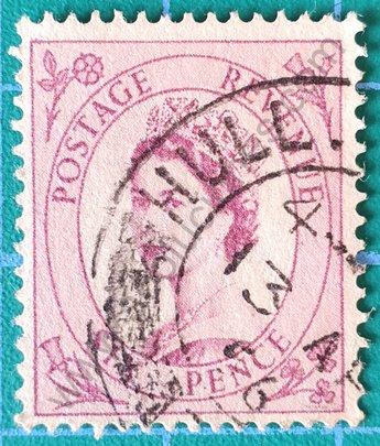 Sello Elizabeth II año 1954 - Reino Unido - 6d