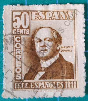 Sello Marqués de Salamanca - España 1948