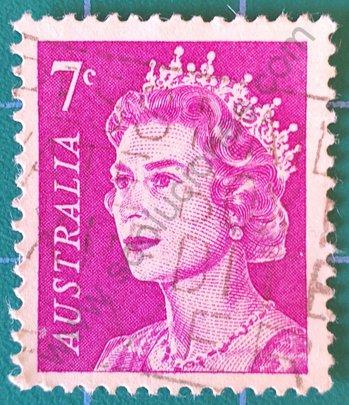 Sello Australia 1971 Elizabeth II - 7c