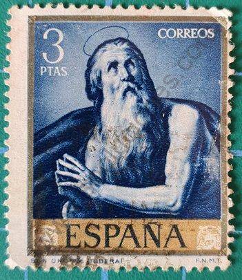 Sello España San Onofre - 1963