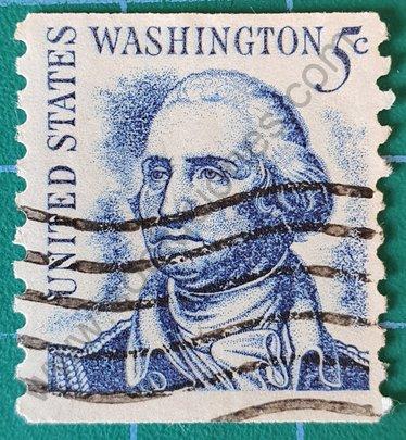 Sello George Washington 5c - Estados Unidos 1966