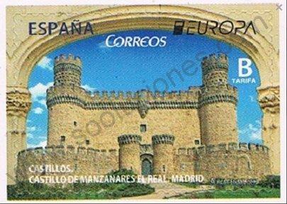 Sello Castillo de Manzanares - España 2017