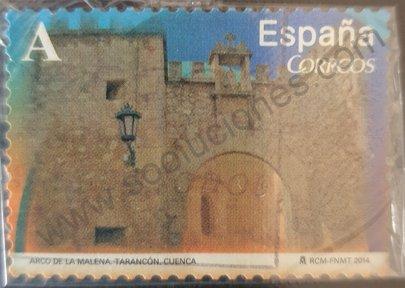 Sello Arco de la Malena - España 2014