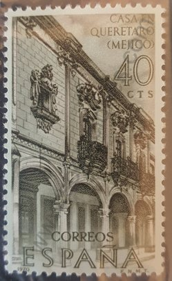 Sello Casa en Queretaro - España 1970