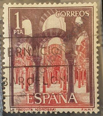 Sello Mezquita de Córdoba - España 1964