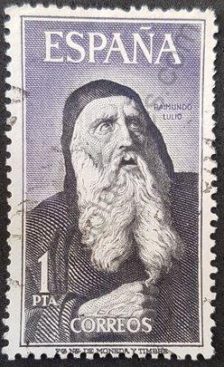 Sello Raimundo Lulio - España 1963