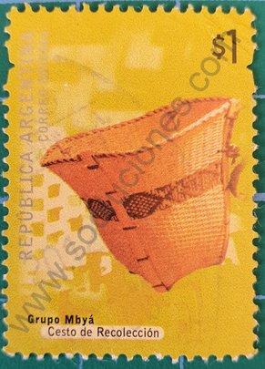 Sello Cesto de Recolección - Argentina 2000