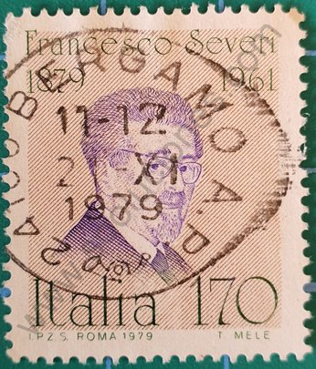 Sello Italia 1979 Francesco Severi