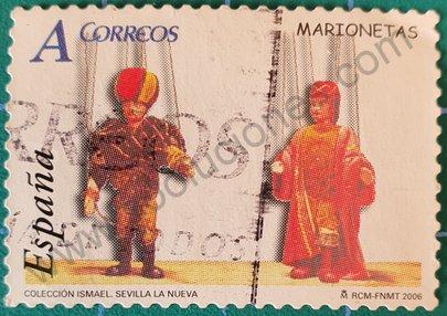 Sello Juguetes Marionetas - España 2006