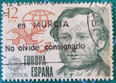 Sello Manuel Ysasi - España 1979