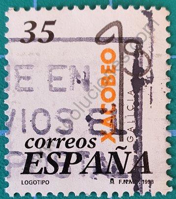 Sello Xacobeo 99 - Expaña 1998