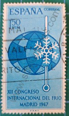 Congresos, Sellos España 1967