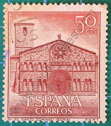 Iglesia de Santo Domingo Soria - Sello España 1966