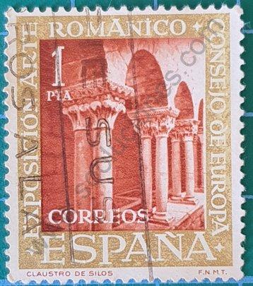 Claustro del Monasterio de Silos - Sello España 1961