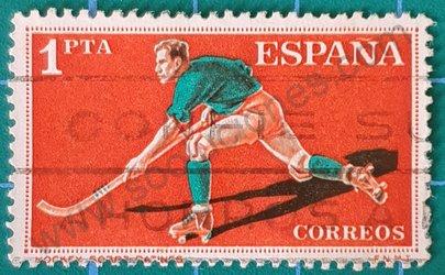 Hockey sobre hierba - Sello España 1960