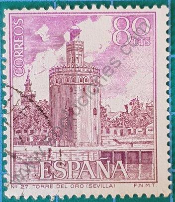 Sello Torre del Oro - España 1966