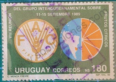 8va. Reunión sobre frutos cítricos - Uruguay 1989