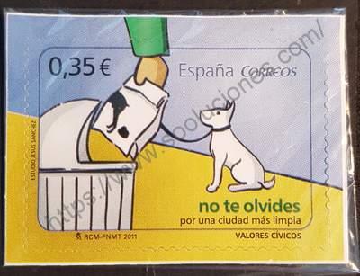 Sello de España 2011. No te olvides...