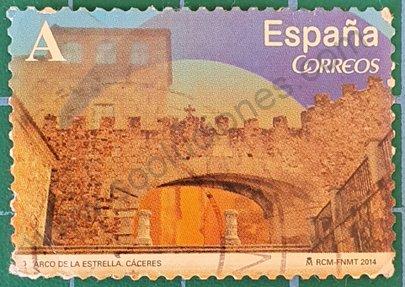 Arco de la Estrella - Sello de España año 2014