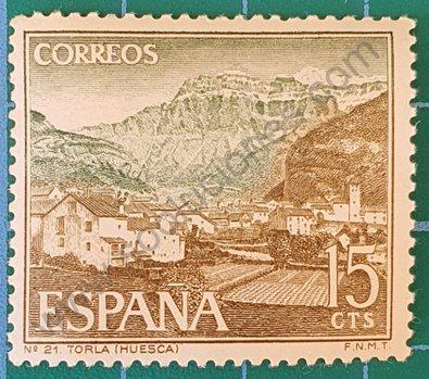 Parque Nacional de Torla - Sello España 1966