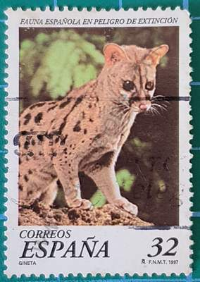 Gineta - sello de España de 1997 32 Pta