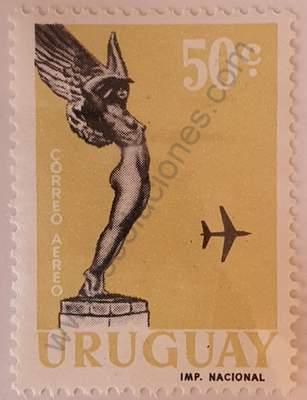Boiso Lanza homenaje 50c - Sello Uruguay 1960