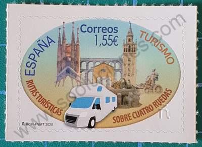 Turismo autocaravana - Sello España 2020