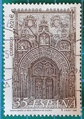 Santa María La Real - Sello España año 2000