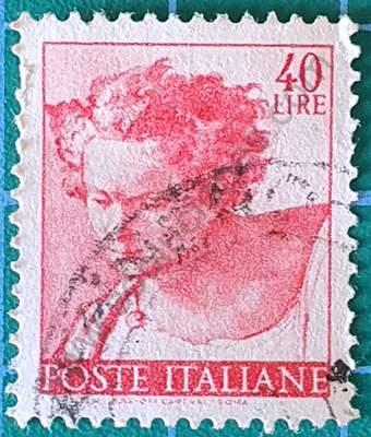 Profeta Daniel - Sello Italia 1961 40 L