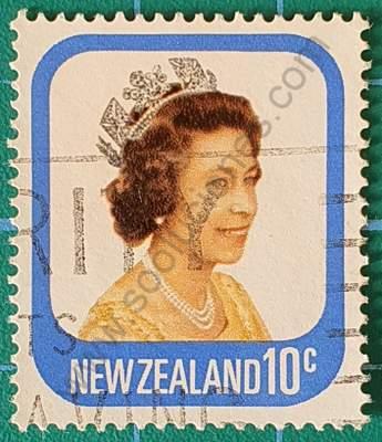 Elizabeth II - Nueva Zelanda sello de 10c 1979