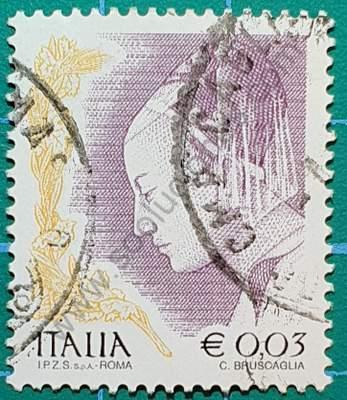 Mujeres en el arte - Sello Italia 2004