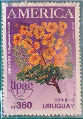 Ibirapitá - Sello de Uruguay 1990 360 N$