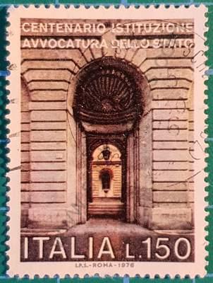 Centenario Abogacía del Estado - Sello Italia 1976