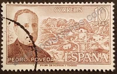 Pedro Poveda 10Pta - Sello España 1974
