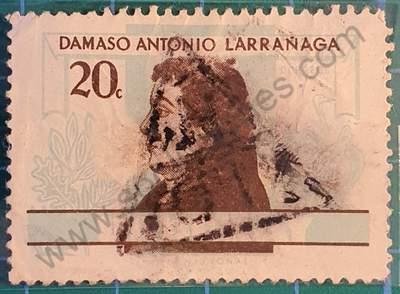Damaso Antonio Larrañaga 20c - Sello Uruguay 1963