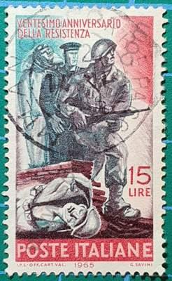 Ejército de liberación 15L - Sello Italia 1965