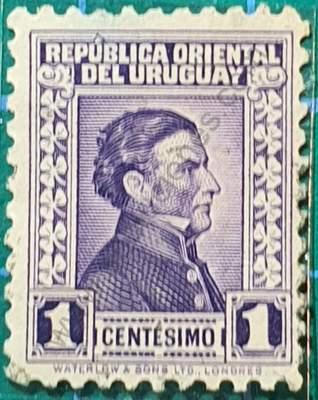 Artigas sello 1928 5c - Uruguay