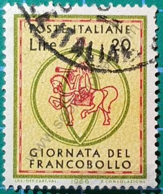 Día del sello 1966 Italia 2L