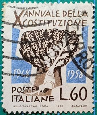 Árbol roble L60 - Sello Italia 195