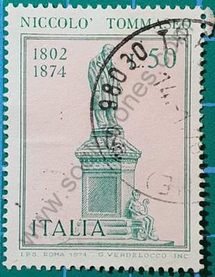 Niccolo Tommaseo - Sello Italia 1974