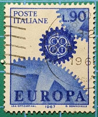 Engranajes - Sello C.E.P.T. Italia 1967