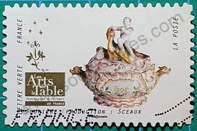Sopera de cerámica - Sello Francia 2018