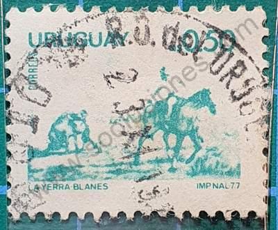 La Yerra - Sello Uruguay 1977