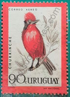 Churrinche - Sello Uruguay 1962