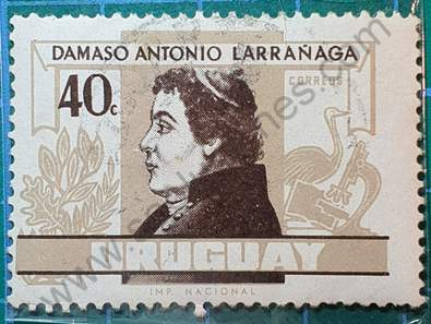 Damaso Antonio Larrañaga 40c - Sello Uruguay 1963